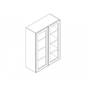 "WMD3630 Makintosh Wall Mullion Door (Double Door) 36"" x 30"" (RTA)"