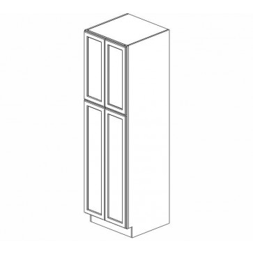 WP2490B Pearl Tall Pantry Cabinet