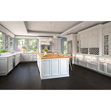 RTA Thompson White 10x10 Kitchen Cabinets