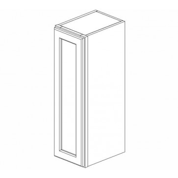 W0936 Pacifica Wall Single Door Cabinet (RTA)