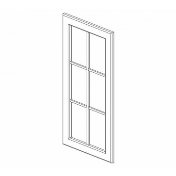 WDC273615GD Sienna Rope Wall Glass Door