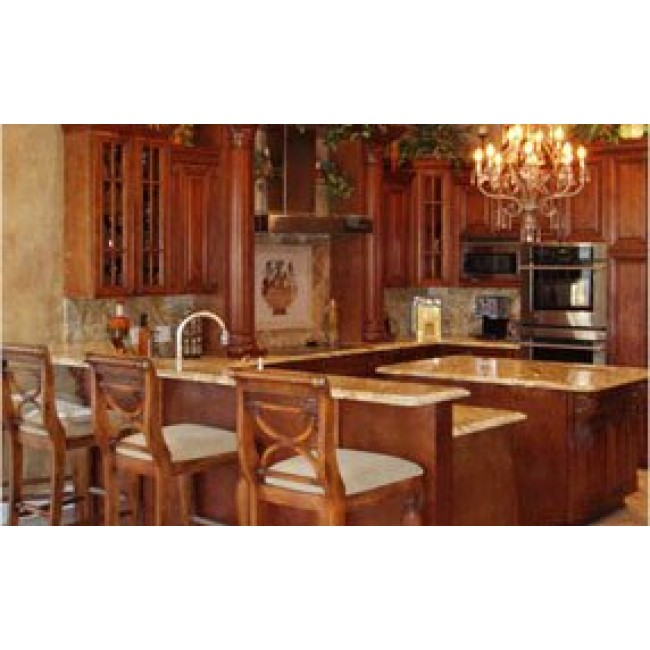 Frameless rta hennessey 10x10 kitchen cabinets for Kitchen cabinets 10x10
