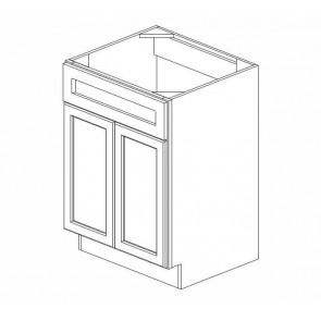 S3021-34-1/2 Savannah Full Height Bathroom Vanity Sink Base Cabinet (RTA)