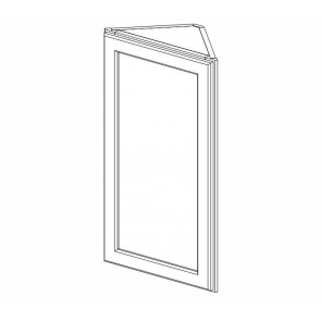 AW30 Thompson White Wall Angle Cabinet