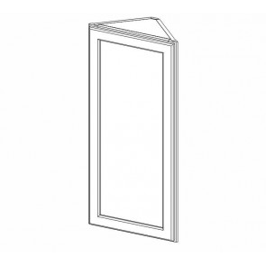 AW36 Thompson White Wall Angle Cabinet