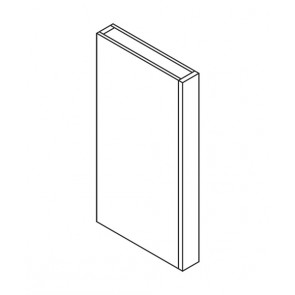 CLW396 Ice White Shaker Wall Column Filler