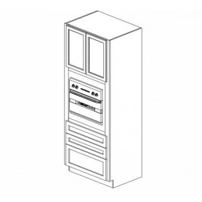 OC3384B Thompson White Tall Oven Cabinet (RTA)
