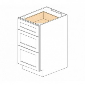 SVB1821-34-1/2 Savannah Full Height Bathroom Vanity Drawer Base Cabinet (RTA)
