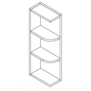WES542 Thompson Midnight Wall End Shelf