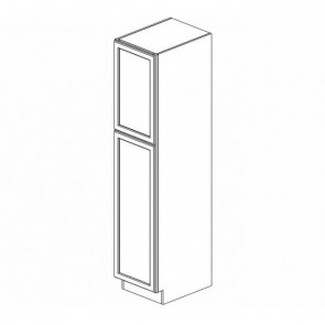 WP1584 Thompson White Tall Pantry Cabinet (RTA)