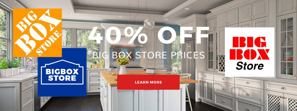 Kitchen Cabinet Kings - 40% Off Big Box Store Prices