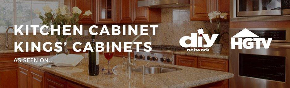Kitchen Cabinet Kings Cabinets as featured on DIY Network and HGTV