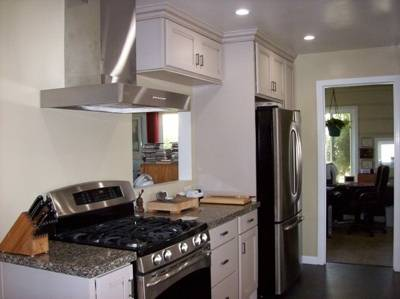 Install Kitchen Appliances, Faucet & Hardware