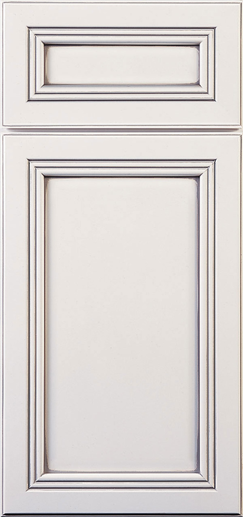 Recessed panel cabinet
