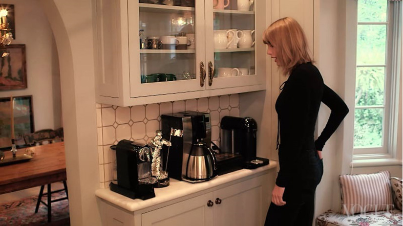 Taylor Swift Coffee Station