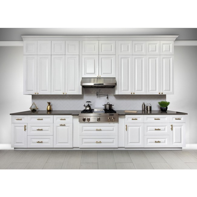 Kitchen Cabinets Pictures Free: Frameless RTA Classic White 10x10 Kitchen Cabinets