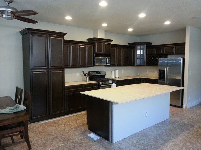kitchens with espresso cabinets buy espresso rta ready to assemble kitchen cabinets 22275
