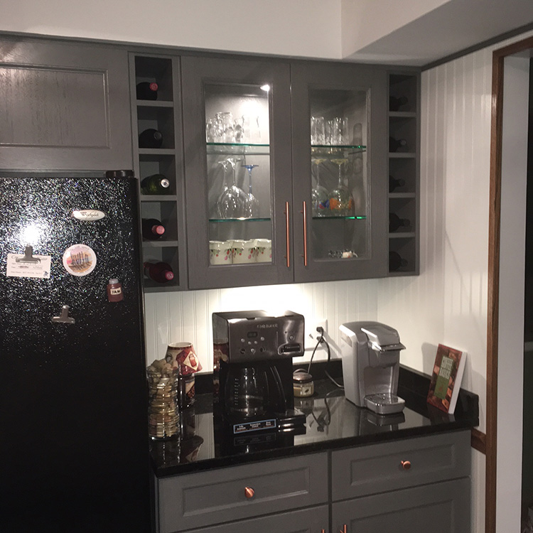 Kitchen Cabinets Reviews Brands: Buy Midtown Gray Kitchen Cabinets Online