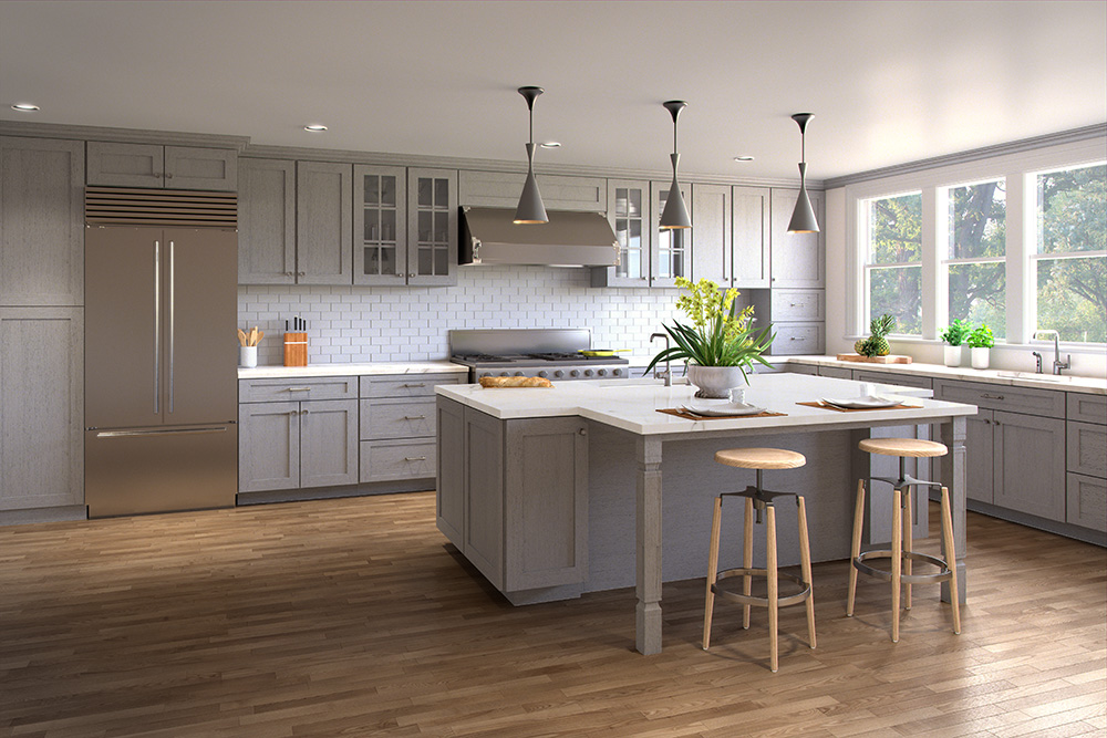 Genial Gray Kitchen Cabinets