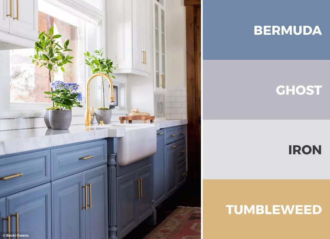 30 Captivating Kitchen Color Schemes