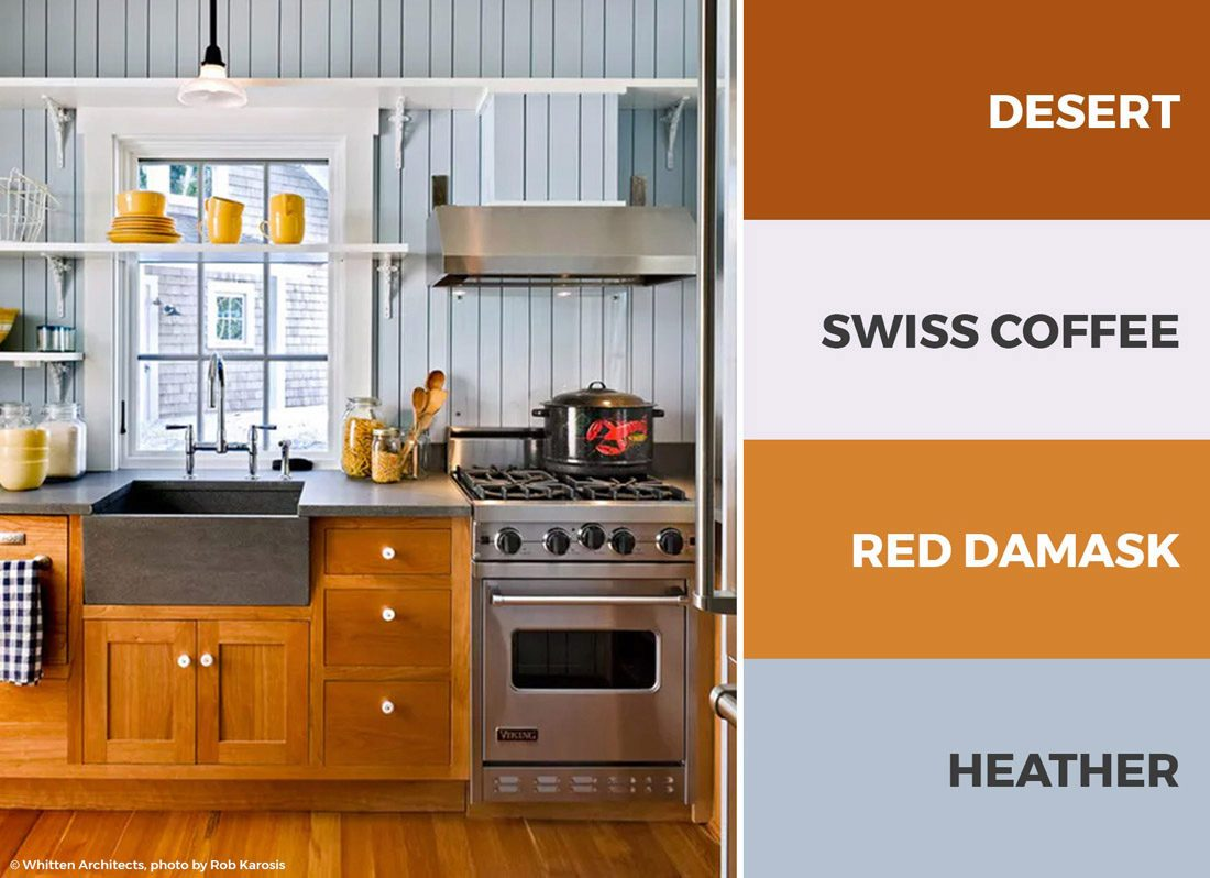 30+ Captivating Kitchen Color Schemes