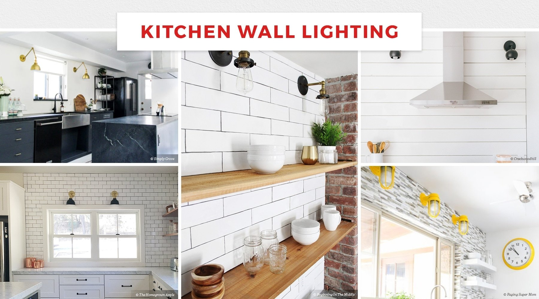 60 Charming Kitchen Lighting Ideas For 2020